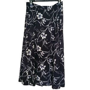 Nguard Collection vintage .midi skirt button front